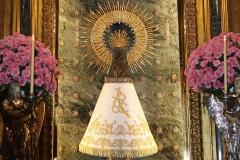 Donación del manto a la Virgen del Pilar (1 de diciembre de 2016)