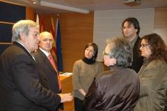 Presentación del libro 'Arte, Vino y Viñas' (4 de diciembre de 2007)