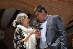 Luisa Gavasa en el Paseo de las Estrellas (20 de mayo de 2017)